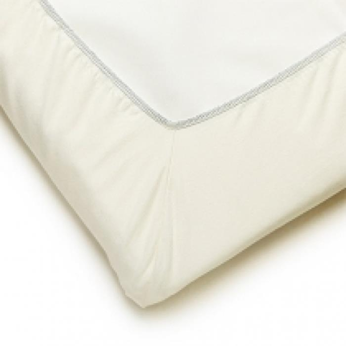 BabyBjorn Fitted Sheet For Travel Cot (Natural White Organic)