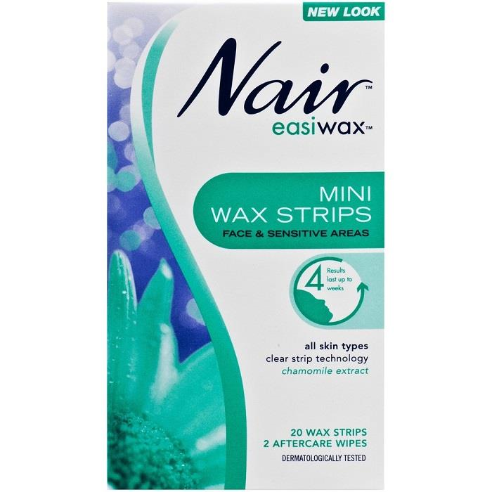 Nair Easiwax Wax Strips Mini X 20