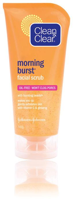 Clean & Clear Morning Burst Facial Scrub 141g