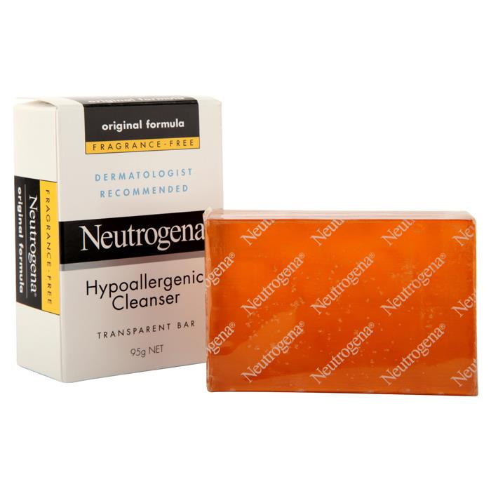 Neutrogena Hypo Allergenic Cleanser Bar 95g