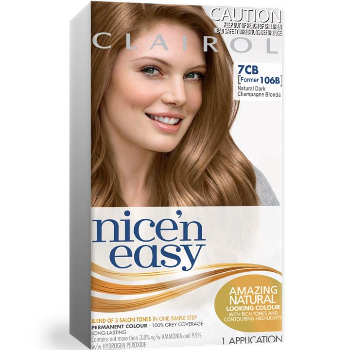 Clairol Nice And Easy 106B Natural Dark Champagne Blonde