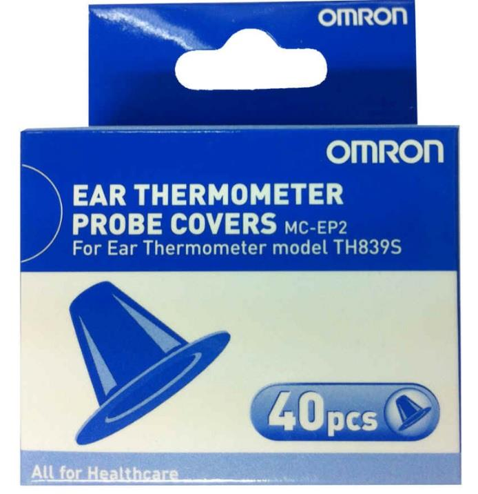 Omron Ear Thermometer Probe Cover For TH839S Refills X 40