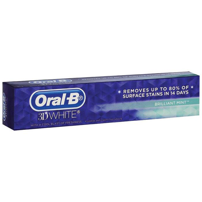 Oral-B 3D White Mint Toothpaste 130g