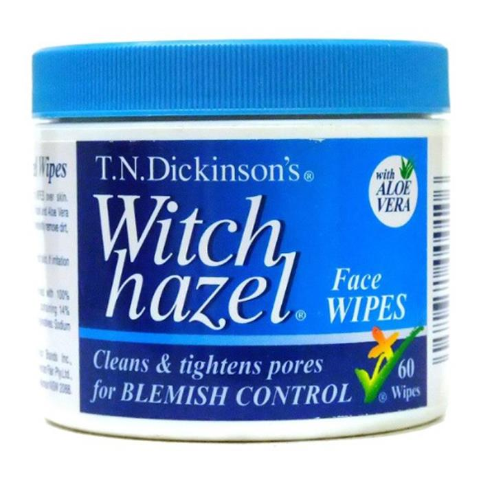 T.N. Dickinson's Witch Hazel Face Wipes X 60
