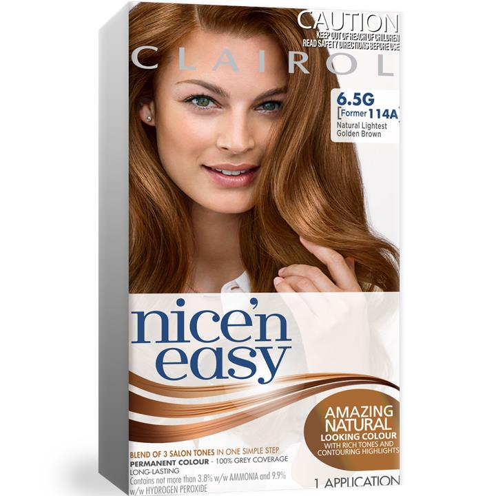 Clairol Nice And Easy 114A Natural Lightest Golden Brown