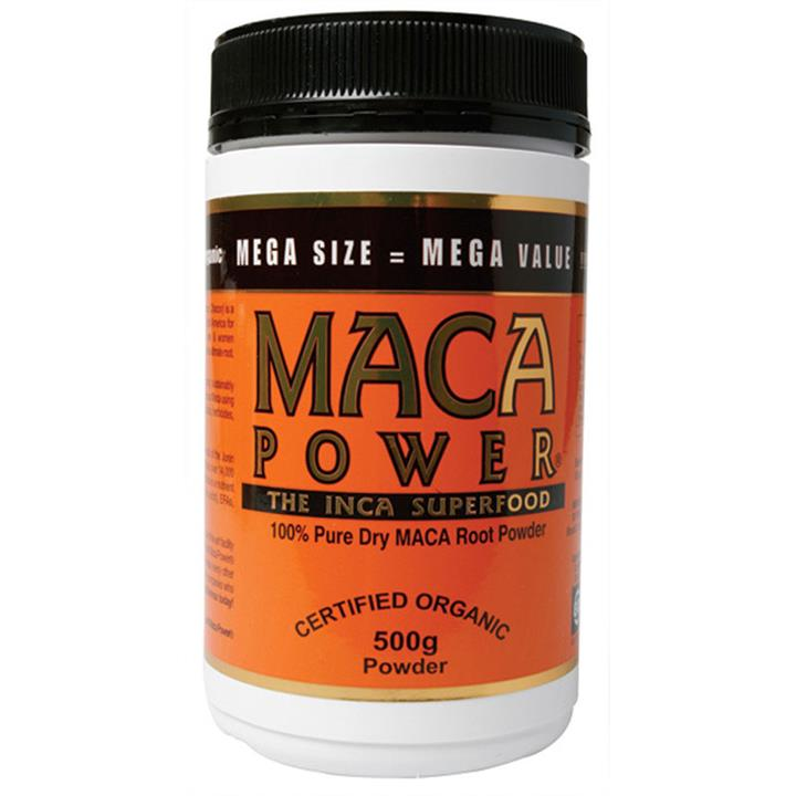 Maca Power Organic Root Powder 500g