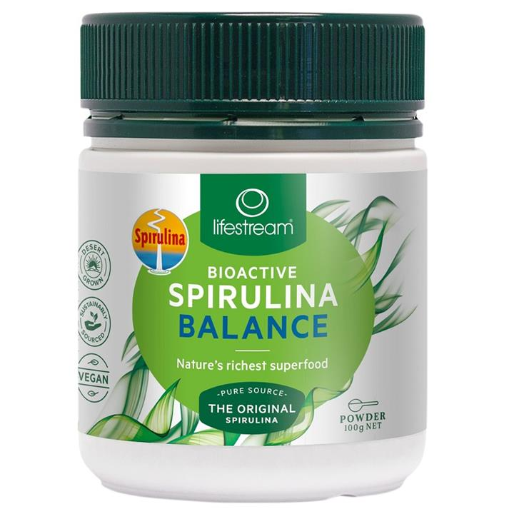 Lifestream Bioactive Spirulina Balance Powder 100g