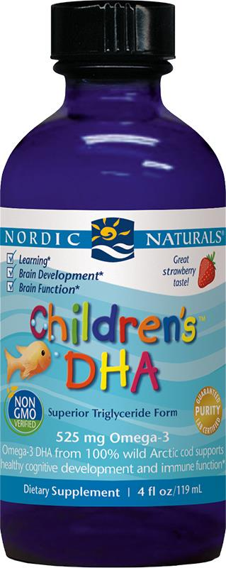 Nordic Naturals Children's DHA Strawberry Liquid 119ml
