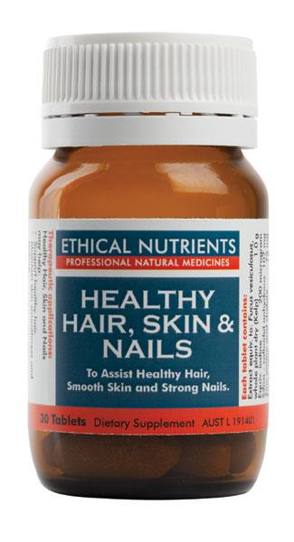 Ethical Nutrients Healthy Hair, Skin & Nails Tab X 30