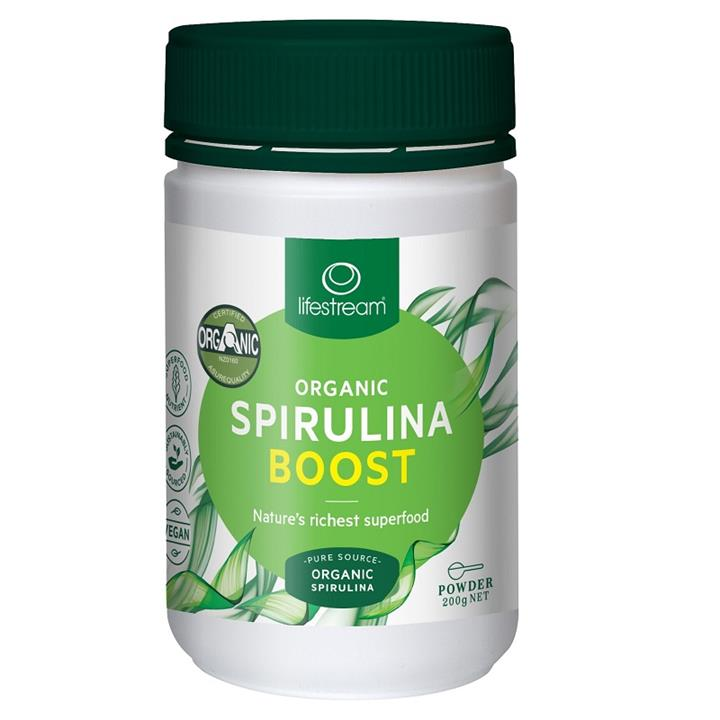 Lifestream Organic Spirulina Boost Powder 200g