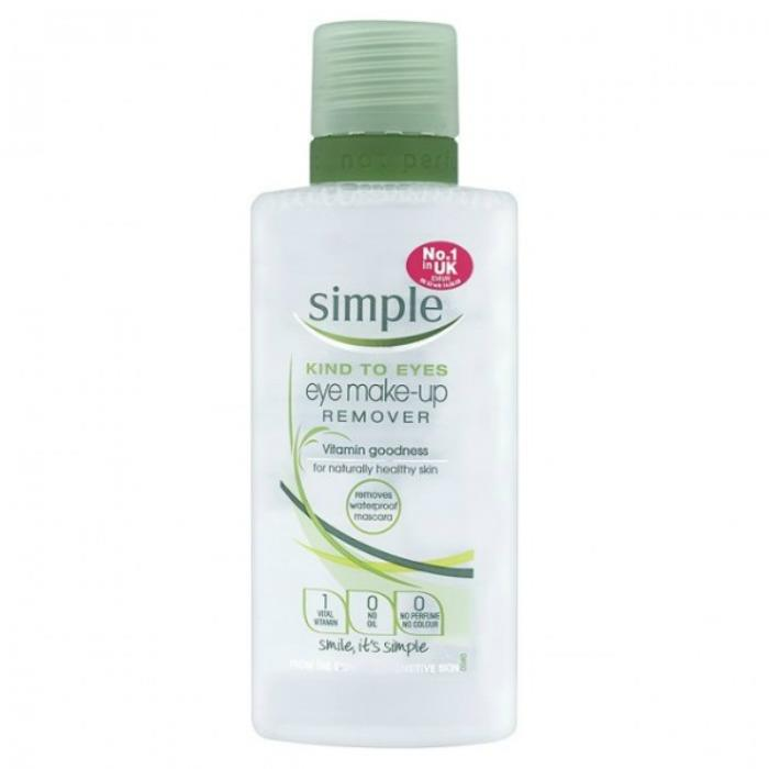 Simple Eye Makeup Remover 125ml