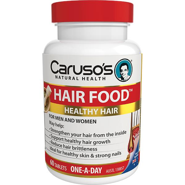 Caruso's Natural Health Hair Food Tab X 60