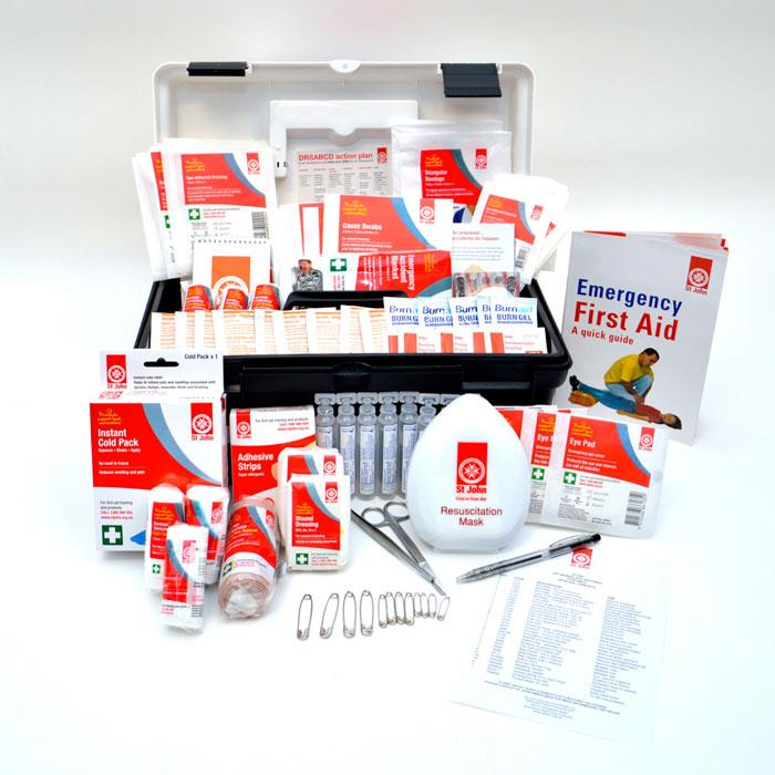 St John First Aid Kit (National Workplace Kit Portable)