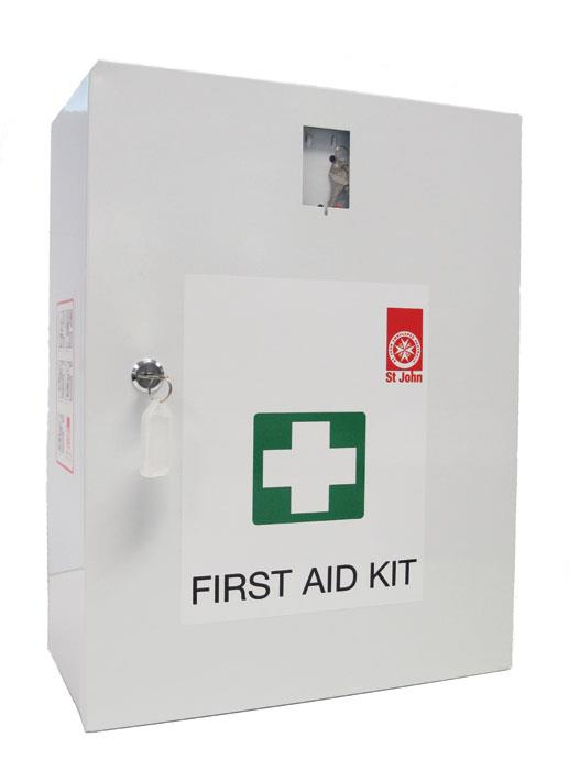 St John First Aid Kit (National Workplace Kit Wallmount)