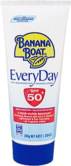 Banana Boat Everyday SPF 50+ 200g