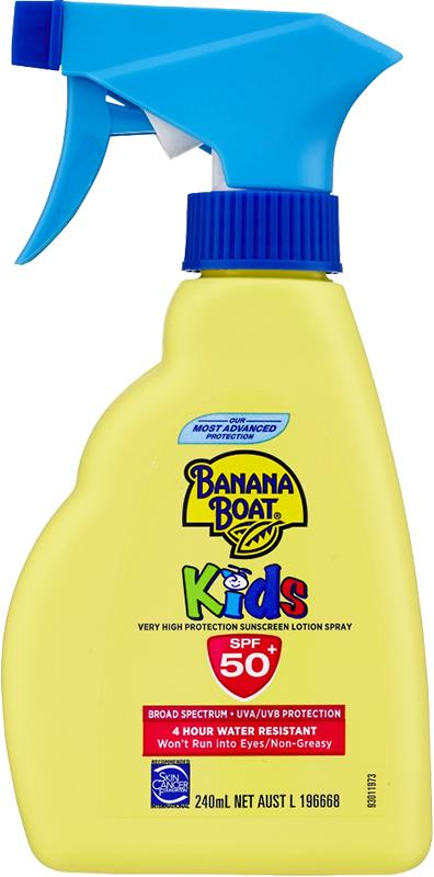 Banana Boat Kids Trigger Spray SPF 50+ 240ml