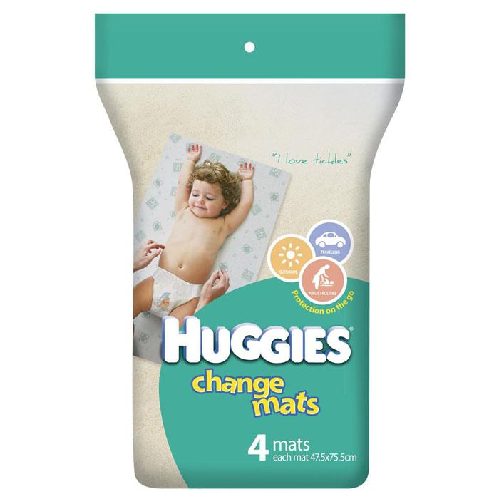 Huggies Change Mats X 4