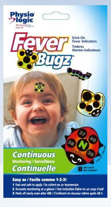 Fever Bugz Stick-On Fever Indicators X 8