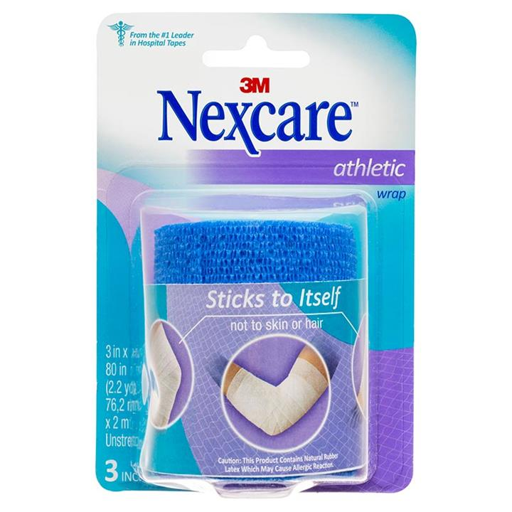 Nexcare Athletic Wrap Blue 75mm X 2m (Unstretched)