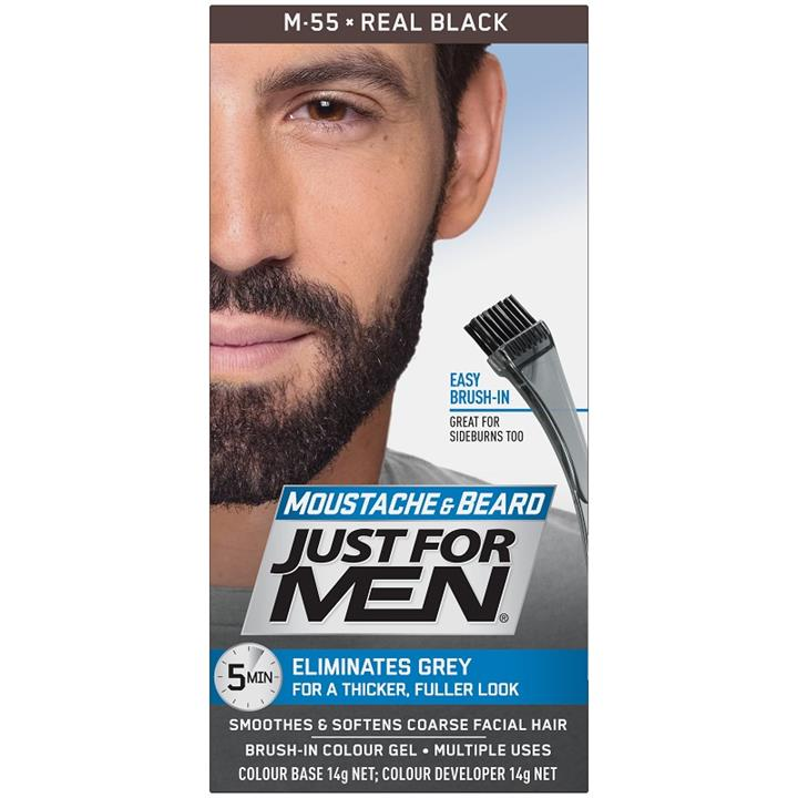 Just For Men Moustache And Beard (Real Black)