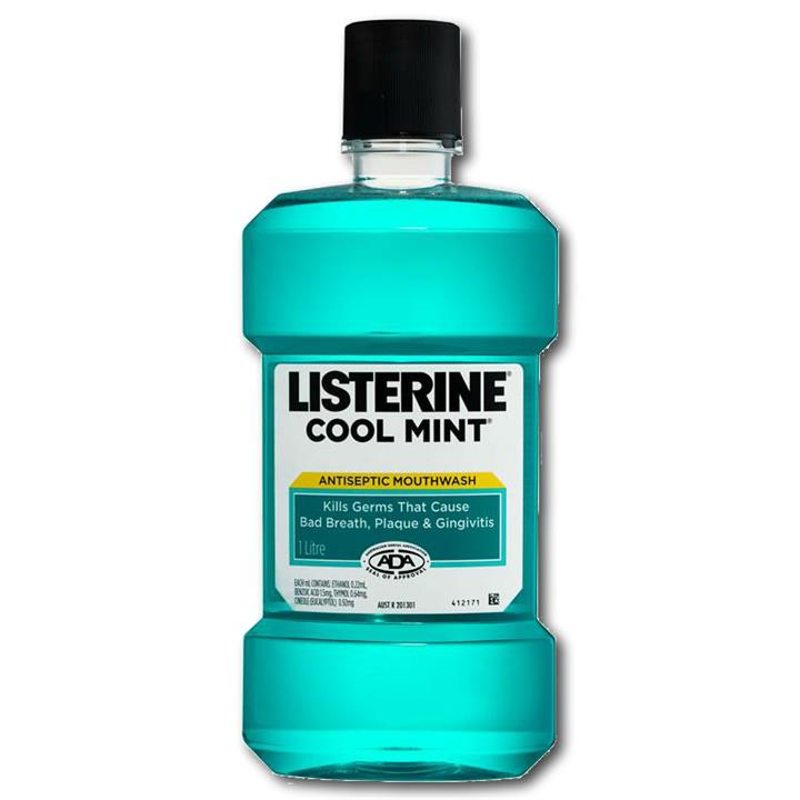 Listerine Coolmint Antiseptic Mouthwash 500ml