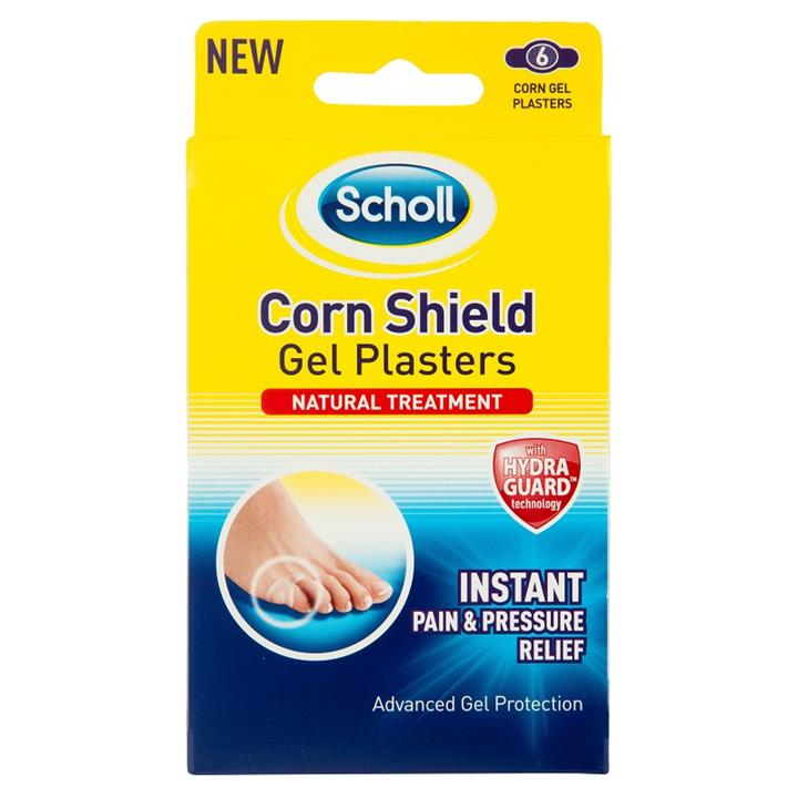 Scholl Corn Shield Gel Plasters X 6