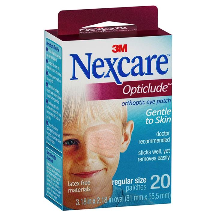 Nexcare Opticlude Eye Pad Regular X 20