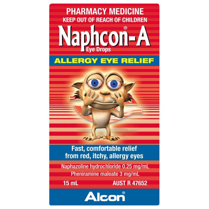 Alcon Naphcon-A Allergy Eye Relief 15ml