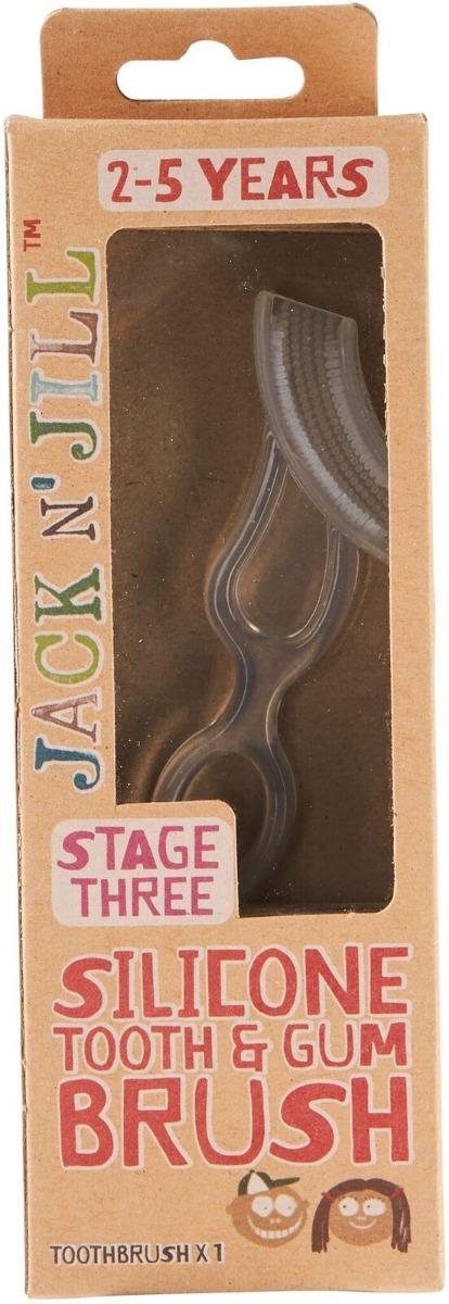 Jack N' Jill Silicone Tooth & Gum Brush Stage 3 (2 – 5 Years)