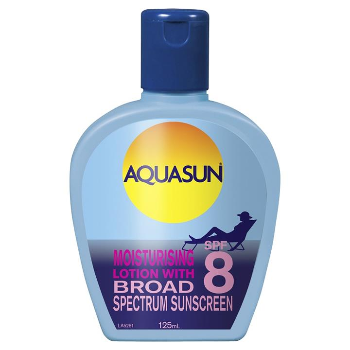 Aquasun Lotion SPF 8 125ml