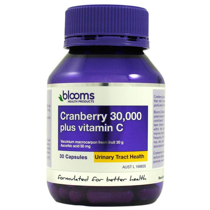 Henry Blooms Cranberry 35,000mg Plus Cap X 30