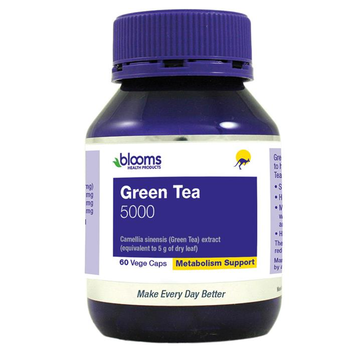 Henry Blooms Green Tea 5000mg Cap X 60
