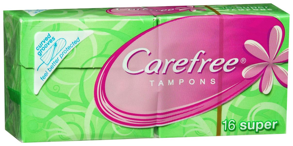 Carefree Tampons Super X 16
