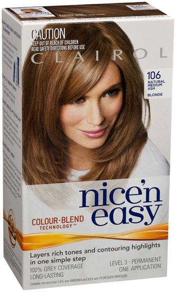 Clairol Nice And Easy 8A Natural Medium Ash Blonde