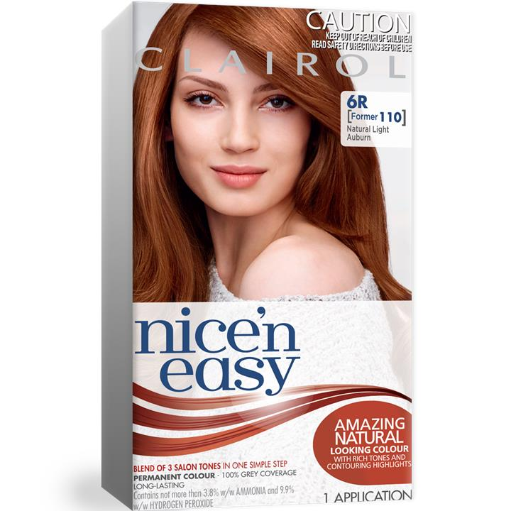 Clairol Nice And Easy 110 Natural Light Auburn