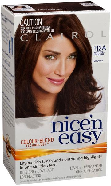 Clairol Nice And Easy 112A Reddish Brown
