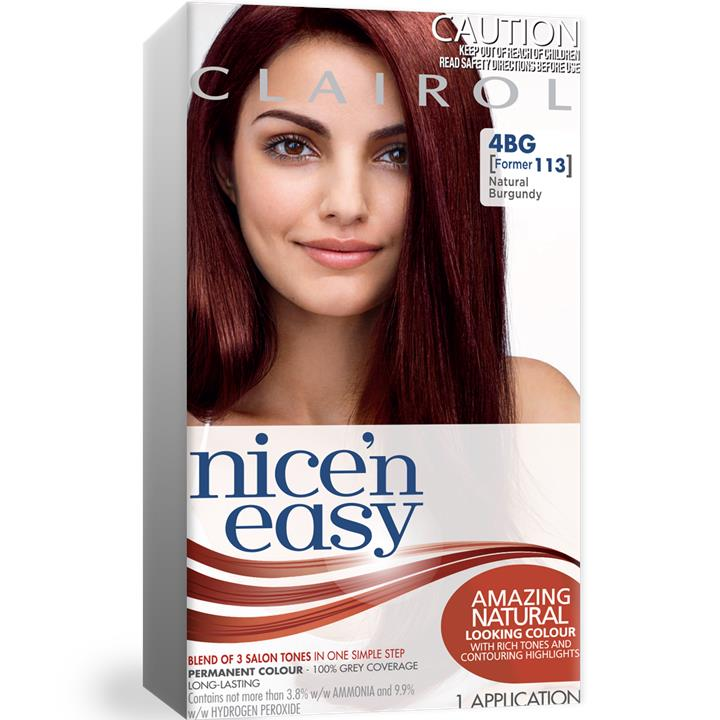 Clairol Nice And Easy 113 Burgundy