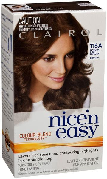 Clairol Nice And Easy 116A Natural Light Golden Brown