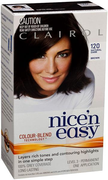 Clairol Nice And Easy 120 Natural Dark Brown