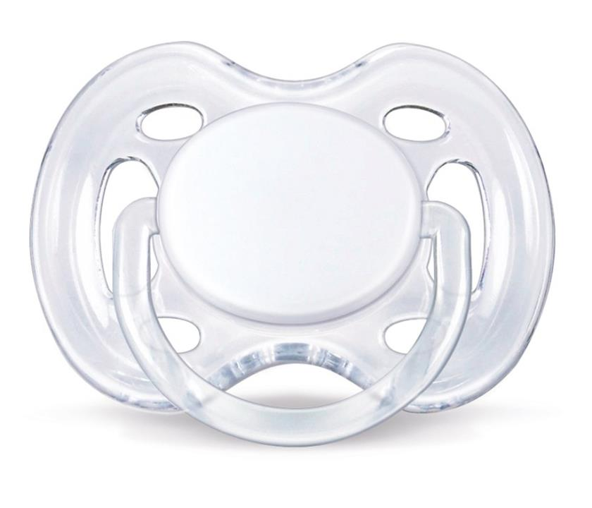 Avent Soother 0-6 Months Free Flow X 2 (Assorted Designs/Colours)