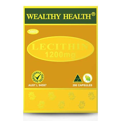 Wealthy Health Lecithin 1200mg Cap X 200