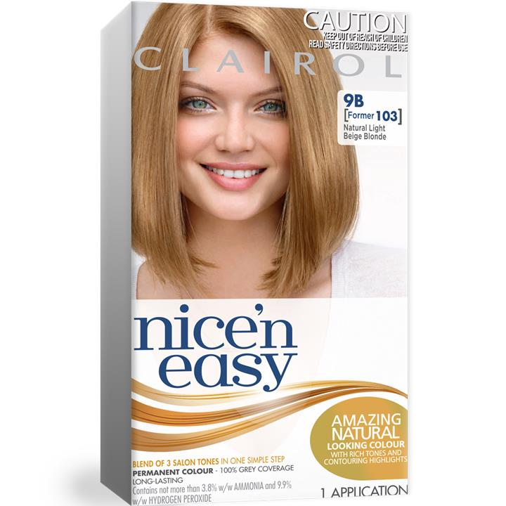 Clairol Nice And Easy 103 Lite Blonde