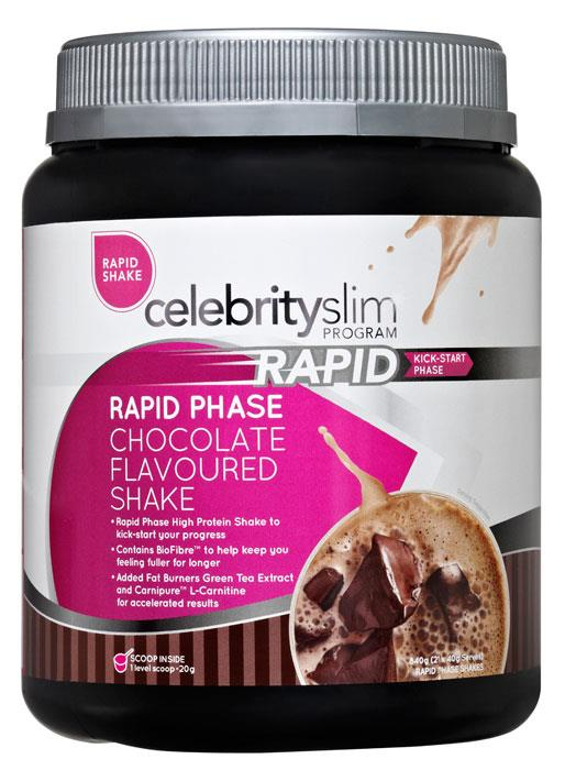 Celebrity Slim Rapid Shake Chocolate 840g
