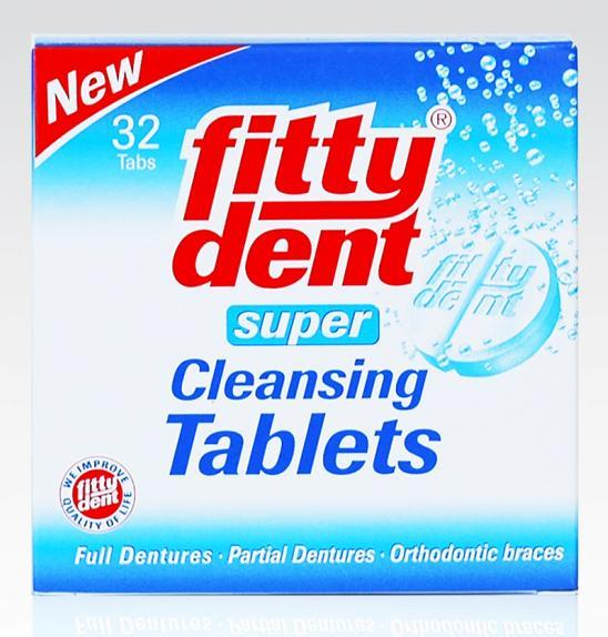 Fittydent Super Cleansing Tab X 32