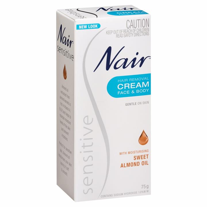 Nair Hair Remover Cream Sensitive 75g