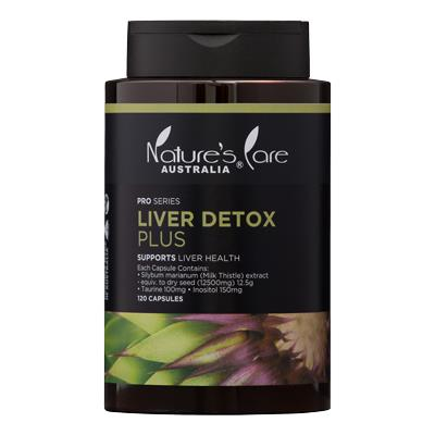 Nature's Care Pro Series Liver Detox Plus Cap X 120