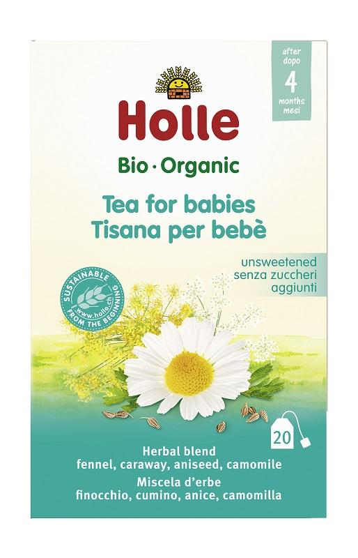 Holle Organic Baby Tea for Kids (20 Teabags)