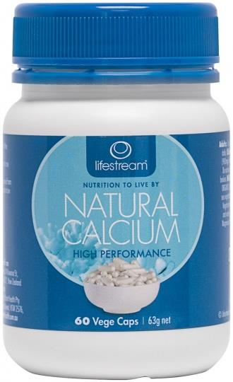 Lifestream Natural Calcium Cap X 60