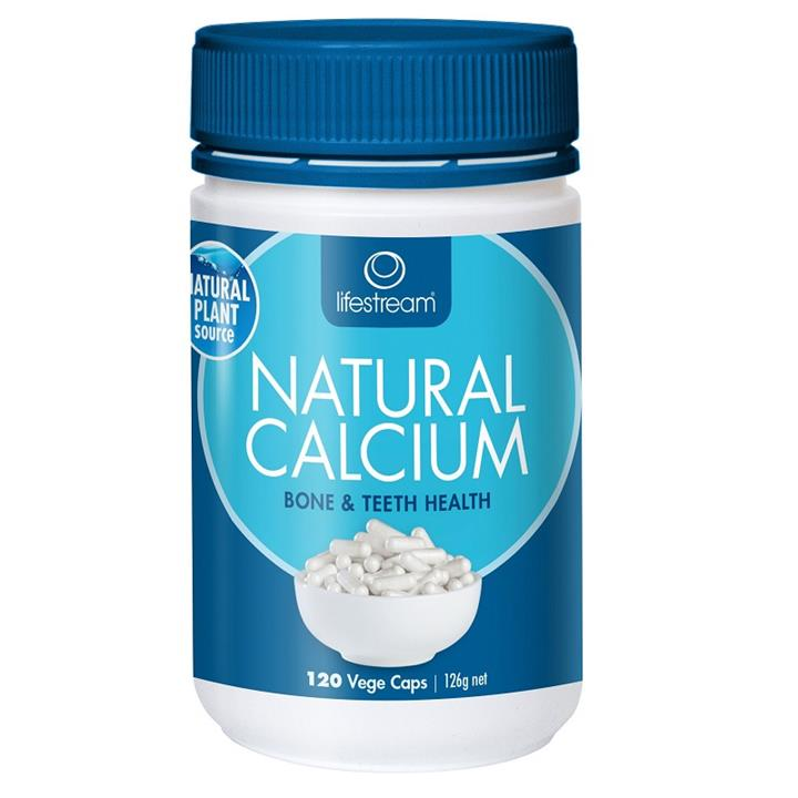 Lifestream Natural Calcium Cap X 120