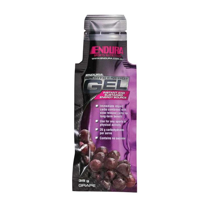 Endura Sports Energy Gel (Grape) 35g X 20